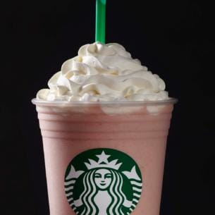 Strawberries Amp Cr 232 Me Frappuccino 174 Blended Cr 232 Me